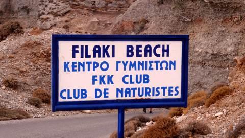 Filaki nude beach