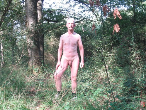Paul in the woods