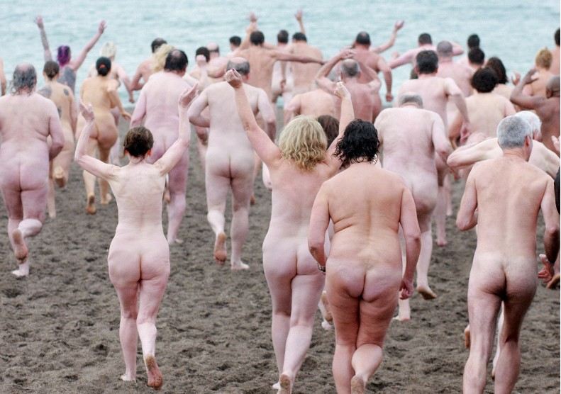 Naked people nude beach