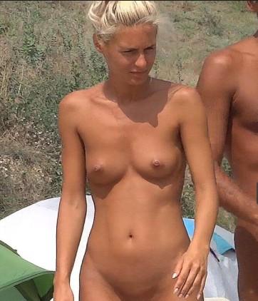 Naturist woman