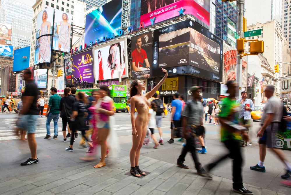 The freedom to be nude in the city
